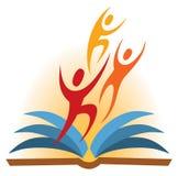 People Book Logo Stock Photo