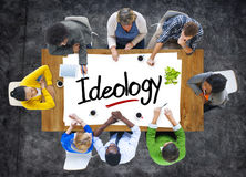 People Brainstorming about Ideology Concepts Stock Photo
