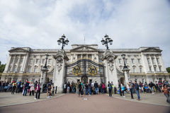 People and Buckingham Palace Stock Photos