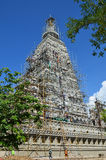 People building at the Wat joung kum temple in Lampang Thailand Royalty Free Stock Images