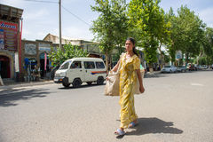 People in BUKHARA, UZBEKISTAN Stock Photography