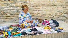 People in BUKHARA, UZBEKISTAN Stock Image