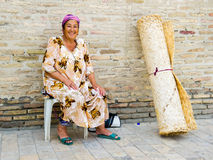 People in BUKHARA, UZBEKISTAN Royalty Free Stock Photos