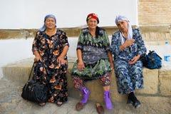 People in BUKHARA, UZBEKISTAN Royalty Free Stock Photo