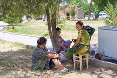 People in BUKHARA, UZBEKISTAN Stock Photos