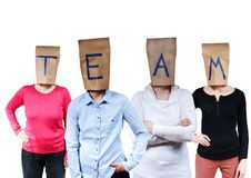 People buldinga team Royalty Free Stock Image