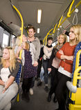 People in a bus Royalty Free Stock Image