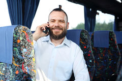 People on the bus. Royalty Free Stock Photos