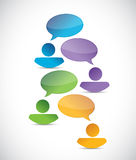 People business diversity communication Stock Image