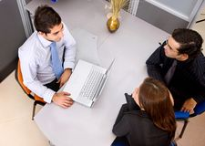 People in a business meeting Royalty Free Stock Images