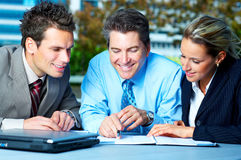 People at Business Meeting Royalty Free Stock Images