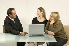 People in Business Meeting Royalty Free Stock Photography