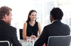 People in a business meeting Royalty Free Stock Image