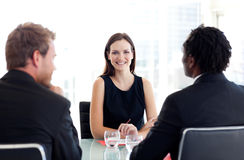 People in a business meeting Royalty Free Stock Photography