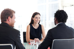 People in a business meeting Royalty Free Stock Photos