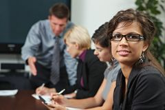 People on business training Royalty Free Stock Photos