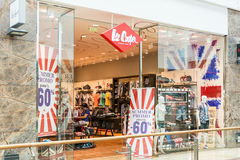 People Buying Clothes In Lee Cooper Store Stock Image