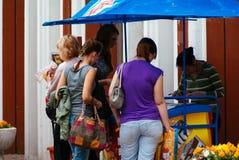 People buying ice cream Royalty Free Stock Image