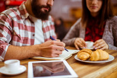 People in cafe Stock Photos