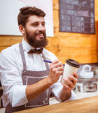 People in cafe Stock Image