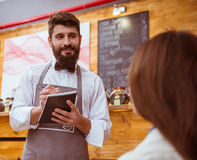 People in cafe Stock Photography