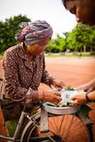People In Cambodia Royalty Free Stock Image