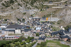 People of Canillo in Andorra La Vella Royalty Free Stock Photos