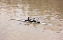 People Canoeing Royalty Free Stock Photo