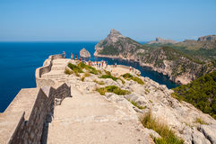 People at Cap de Formentor, Spain Royalty Free Stock Photo