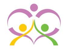 People care logo Stock Photo