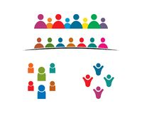 people care logo vector icon illustration stock illustration