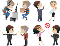 People cartoon Royalty Free Stock Images