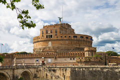 People in the Castel Sant'Angelo, Rome, Italy Royalty Free Stock Photo