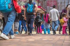 People at Causeway Bay Royalty Free Stock Photo