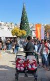 People celebrate Christmas Royalty Free Stock Photo