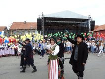 Silute town celebrate 507 years existence day, Lithuania Royalty Free Stock Photography
