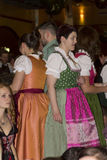 People celebrating on the famous Munich Strong Beer Festival. Royalty Free Stock Photo