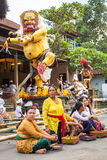 People during the celebration of Nyepi - Balinese Day of Silence. Stock Images