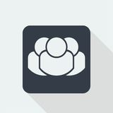 people character, human flat design, people icon Stock Photo