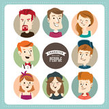 People character illustration Royalty Free Stock Images