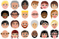 People Characters Character Avatar Isolated Stock Images