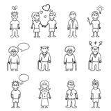 People characters vector Stock Photo