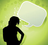 People chat vector Stock Photography