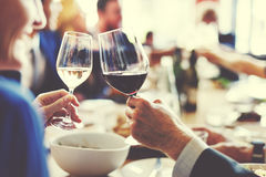 People Cheers Celebration Toast Happiness Togetherness Concept Stock Images