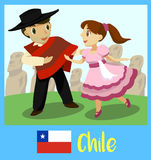 People of Chile Royalty Free Stock Image