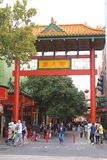 People are shopping in Chinatown,Adelaide, AUS Stock Image