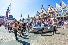 People at Christopher Street das in Frankfurt Royalty Free Stock Image