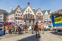 People at Christopher Street das in Frankfurt Royalty Free Stock Photos