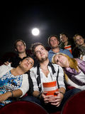 People at the cinema Royalty Free Stock Images