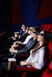 People in the cinema Stock Photo